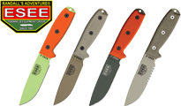 ESEE 4 SPECIAL COLORS by ESEE Knives