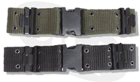Mil-Com Черен колан Quick Release Nylon Pistol Belt by MIL-COM