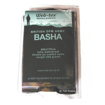 Камуфлажно платнище WEB-TEX BRITISH ARMY BASHA