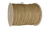 Khaki Паракорд Parachute cord (PARACORD550) 1 m by Unknown